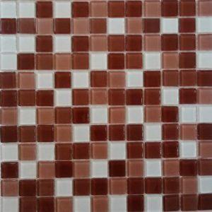 Gạch mosaic thủy tinh trộn màu 58