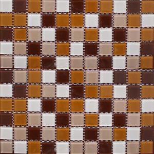 Gạch mosaic thủy tinh trộn màu 59