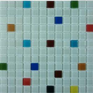 Gạch mosaic thủy tinh trộn màu 60