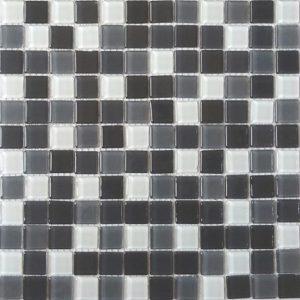 Gạch mosaic thủy tinh trộn màu 64