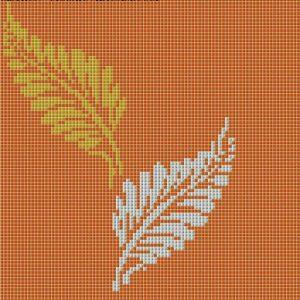 Gạch mosaic thủy tinh trộn màu 78