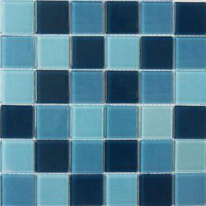 Gạch mosaic thủy tinh trộn màu 08