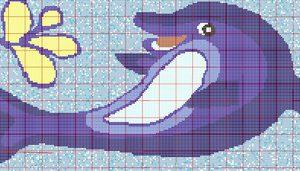 Gạch mosaic thủy tinh trộn màu 84