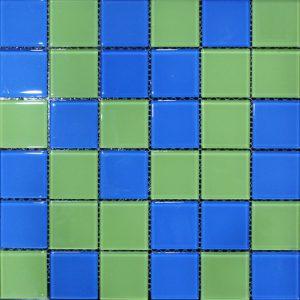 Gạch mosaic thủy tinh trộn màu 09