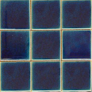 Gạch mosaic men rạn đơn màu 100×100 10