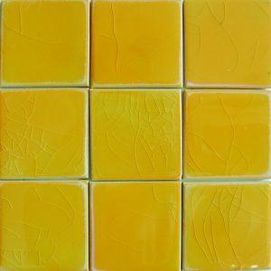 Gạch mosaic men rạn đơn màu 100×100 11