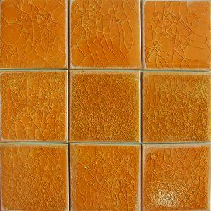 Gạch mosaic men rạn đơn màu 100×100 14