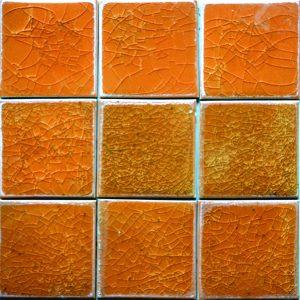 Gạch mosaic men rạn đơn màu 100×100 15