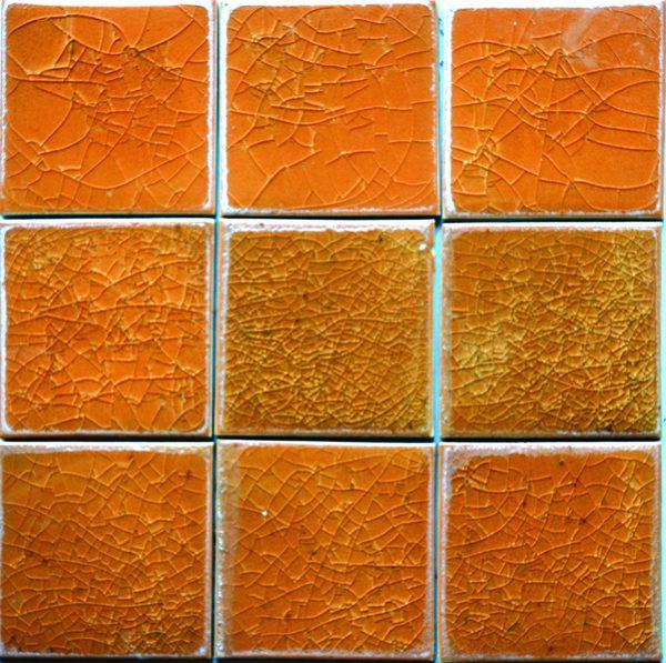 Gach mosaic men ran don mau 100x100 15