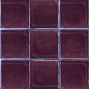Gạch mosaic men rạn đơn màu 100×100 18
