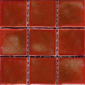 Gạch mosaic men rạn đơn màu 100×100 20
