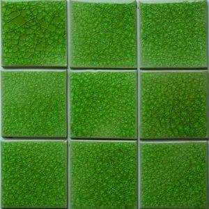 Gạch mosaic men rạn đơn màu 100×100 03