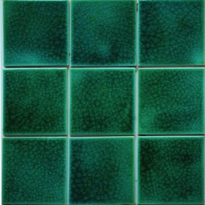 Gạch mosaic men rạn đơn màu 100×100 06
