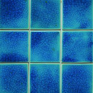 Gạch mosaic men rạn đơn màu 100×100 08