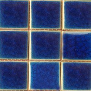 Gạch mosaic men rạn đơn màu 100×100 09
