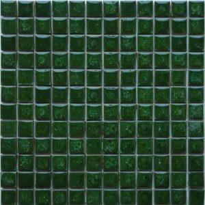 Gạch mosaic men rạn đơn màu 23×23 10