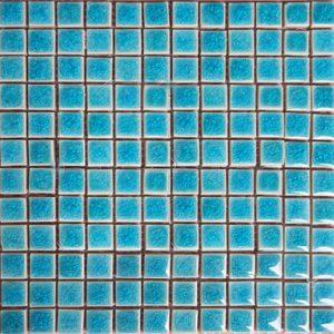 Gạch mosaic men rạn đơn màu 23×23 11