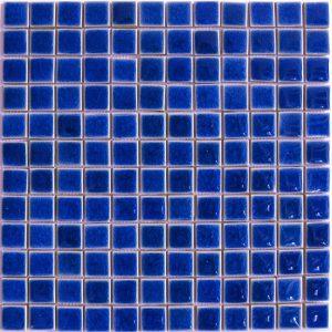 Gạch mosaic men rạn đơn màu 23×23 13