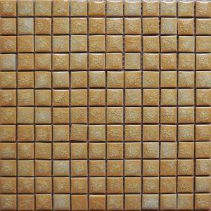 Gạch mosaic men rạn đơn màu 23×23 03