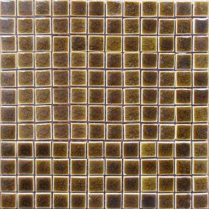 Gạch mosaic men rạn đơn màu 23×23 04