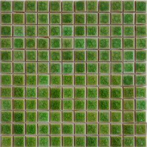 Gạch mosaic men rạn đơn màu 23×23 07