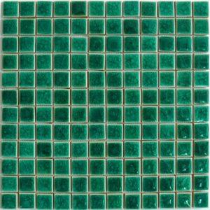 Gạch mosaic men rạn đơn màu 23×23 09