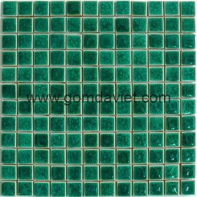 Gach mosaic men ran don mau 23x23 9