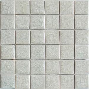 Gạch mosaic men rạn đơn màu 50×50 01