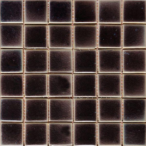Gach mosaic men ran don mau 50x50 12
