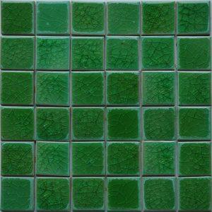 Gạch mosaic men rạn đơn màu 50×50 17