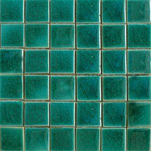 Gạch mosaic men rạn đơn màu 50×50 18