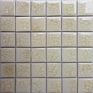 Gạch mosaic men rạn đơn màu 50×50 02