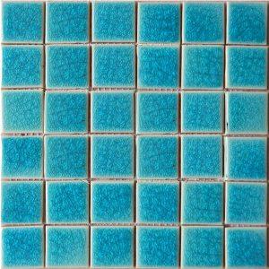 Gạch mosaic men rạn đơn màu 50×50 21