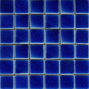 Gạch mosaic men rạn đơn màu 50×50 24