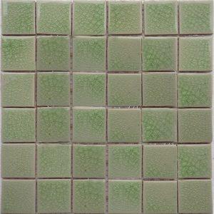 Gạch mosaic men rạn đơn màu 50×50 04