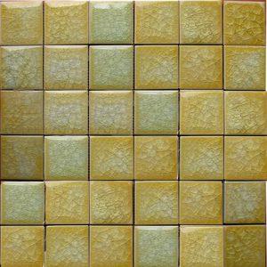 Gạch mosaic men rạn đơn màu 50×50 05