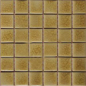 Gạch mosaic men rạn đơn màu 50×50 07