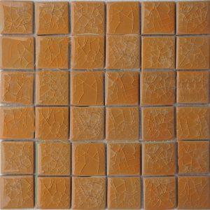 Gạch mosaic men rạn đơn màu 50×50 08