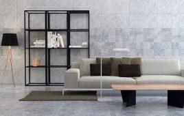 Cách phối gạch ốp tường phòng khách đẹp, sang trọng, độc đáo nhất