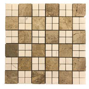 Mosaic đá tự nhiên 48×48 04