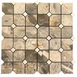 Mosaic đá tự nhiên 48×48 06