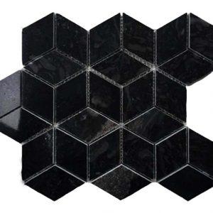 Mosaic đá tự nhiên lục giác – hình thoi 13