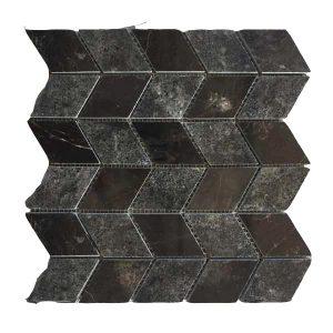 Mosaic đá tự nhiên lục giác – hình thoi 19