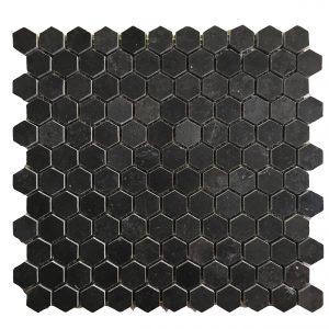 Mosaic đá tự nhiên lục giác – hình thoi 08