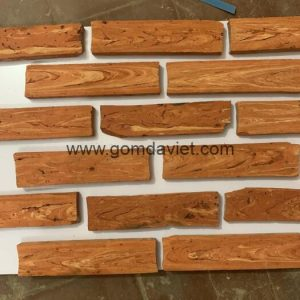 Gạch ốp tường giả cổ 08 – Gạch cổ cắt Sài Gòn – Mặt ruột hàng chọn