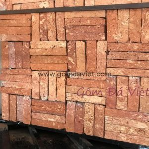 Gạch ốp tường giả cổ 05 – Gạch cổ cắt Miền Tây Mặt Lõi 2