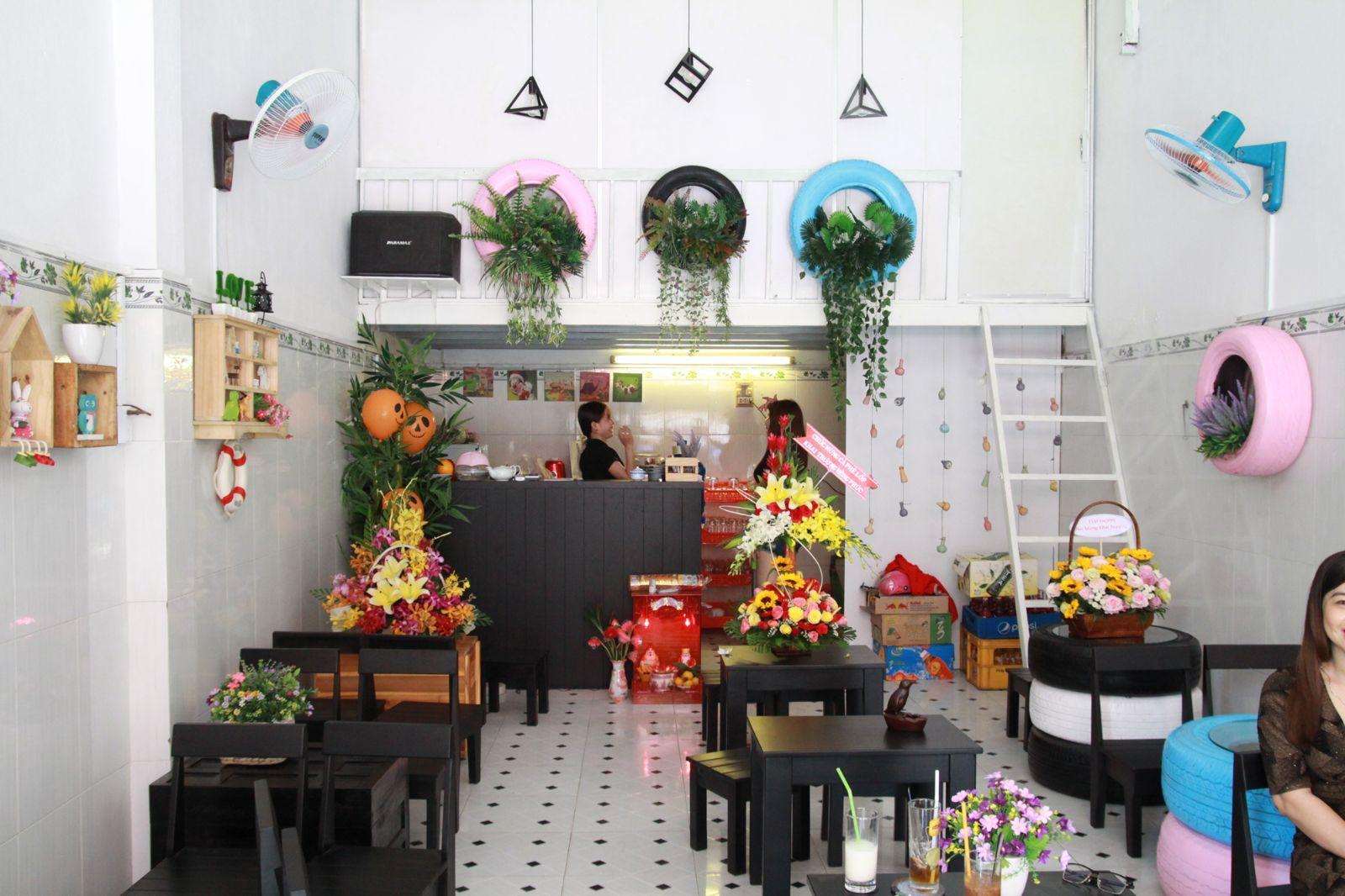 05 Cách trang trí quán cà phê diện tích nhỏ đẹp,đơn giản, thu hút khách hàng