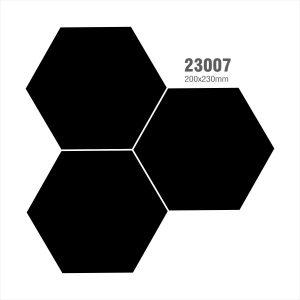 Gạch bông lục giác 10 – Đen