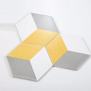 Gạch bông lục giác 14 – Trám vàng