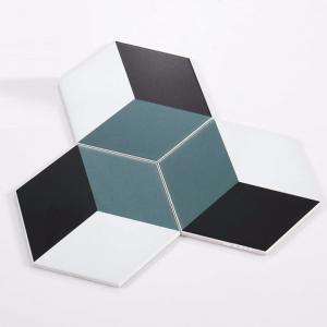 Gạch bông lục giác 15 – Trám xanh